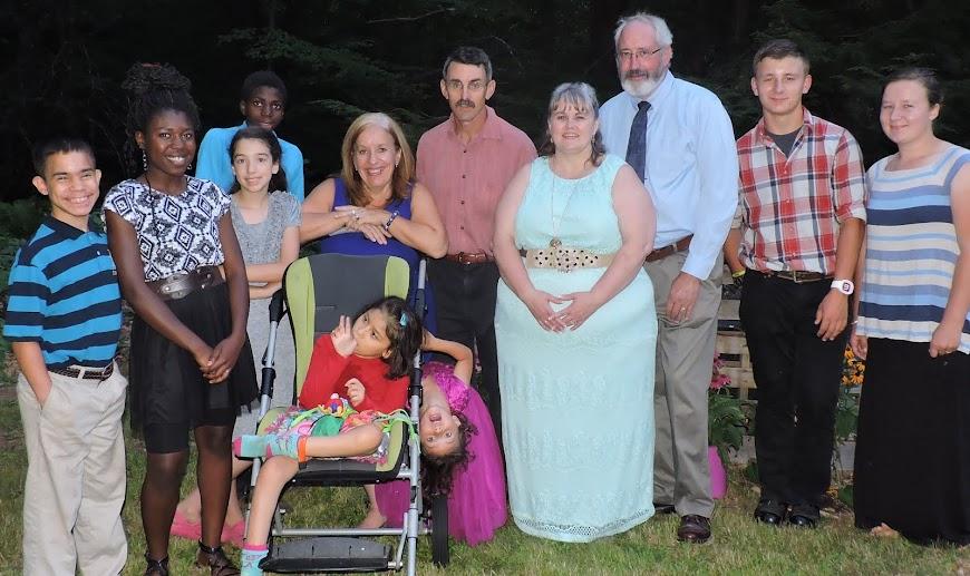 The Winslow Family of Twelve!!