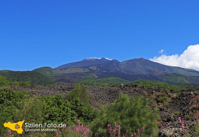 Vulkan Ätna Südseite