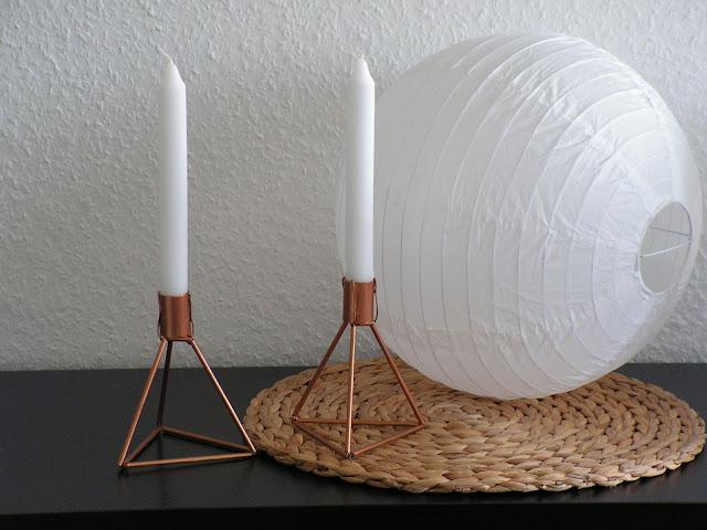 ber gl ck diy lys vintage kerzenst nder 39 kubus 39. Black Bedroom Furniture Sets. Home Design Ideas
