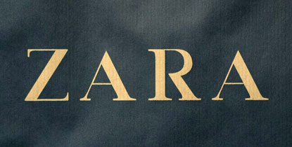 all about logo zara logo. Black Bedroom Furniture Sets. Home Design Ideas