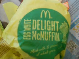 Egg+White+Delight McDonald's Egg White Delight McMuffin- Breakfast Sandwich
