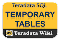 TeradataWiki-Teradata Temporary tables