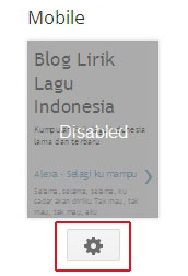 Merubah Blogspot ke versi handphone
