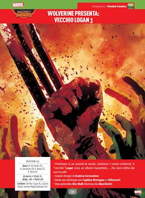 Wolverine presenta Vecchio Logan #3