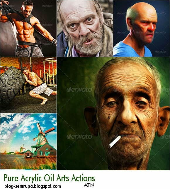 Pure Acrylic Oil Arts Actions Free Download