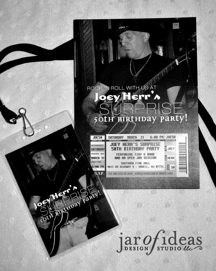 Jar of Ideas: Joey\'s Rock \'n Roll 50th Birthday