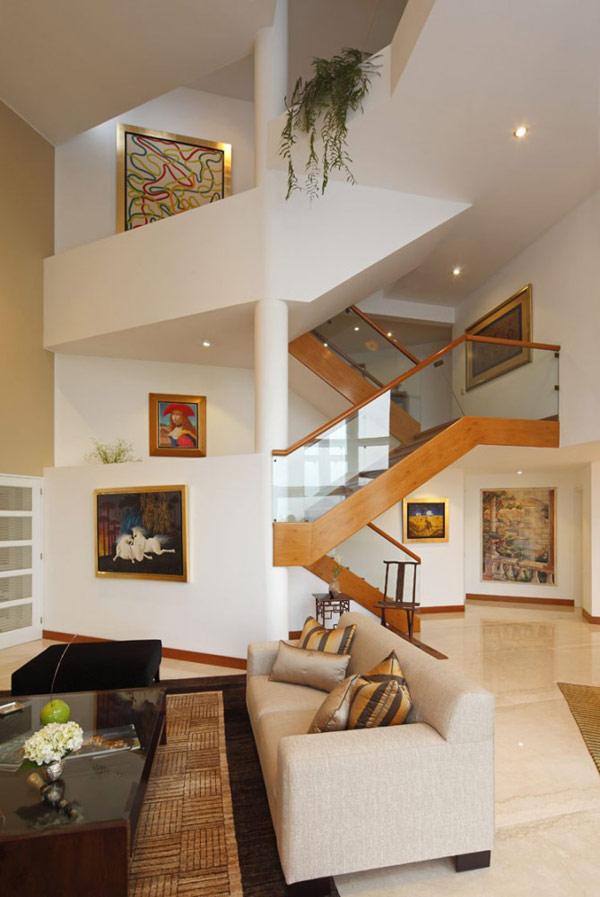 Hogares frescos residencia moderna en lima per for Fotos de casas modernas en lima peru