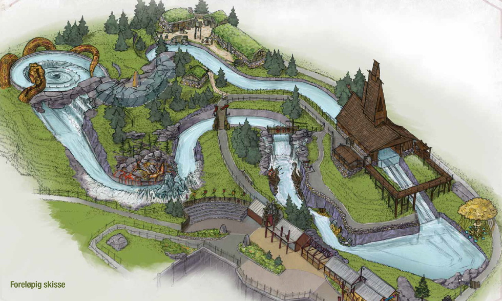 NewsPlusNotes New Family River Rapids Ride Headed To