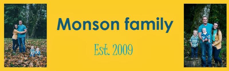 Monson Family: est. 8.15.09