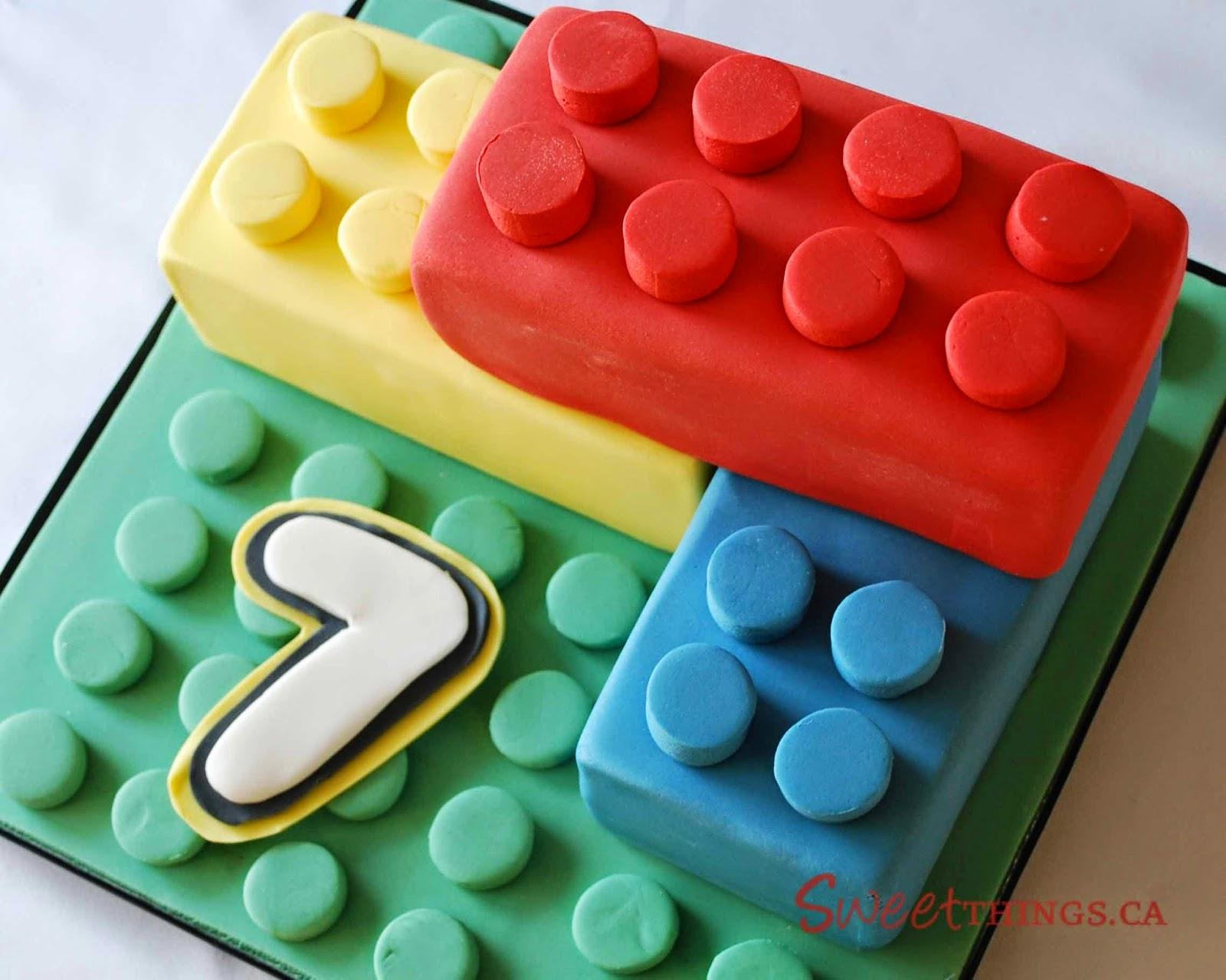 Cake Designs For 7th Birthday Boy : SweetThings: 7th Birthday: Lego Cake