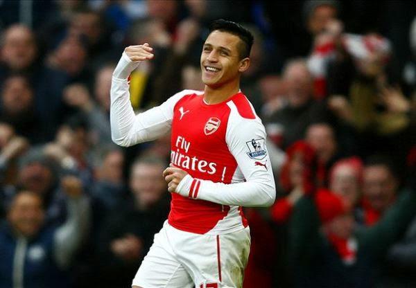 Hasil pertandingan Liga Inggris 2015 Arsenal vs Stoke City 11 Januari 2015