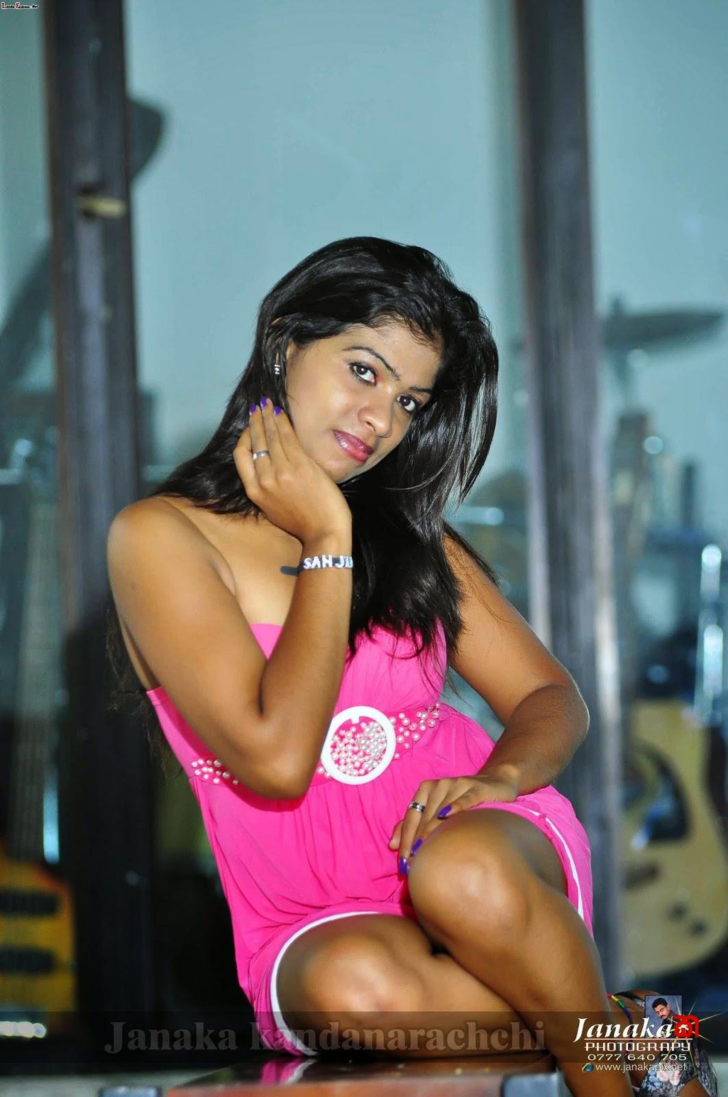 Sanjana Perera leg
