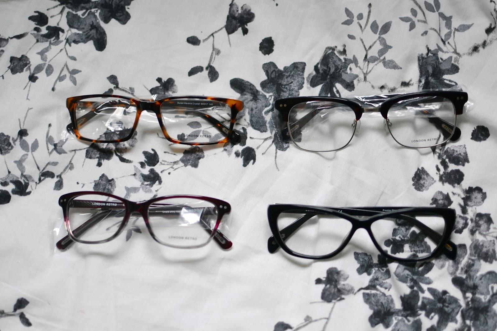 glasses direct home trial london retro