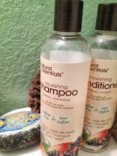 Natural Essentials Nourishing Shampoo and Conditioner