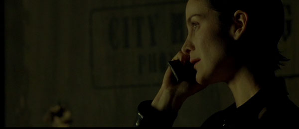 Carrie Anne-Moss in The Matrix
