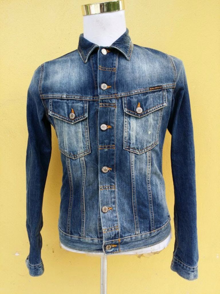 Nudie Terry Vintage Worn Denim JacketSOLD