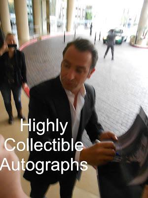 Highly collectible autographs oscar nominees brad pitt for Jean dujardin autographe