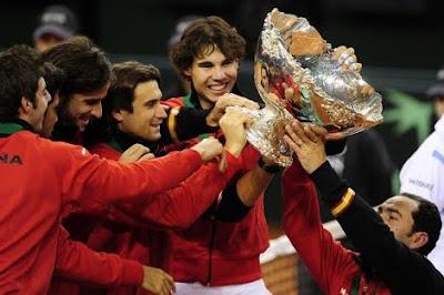 ESPAÑA, pentacampeona de Copa Davis