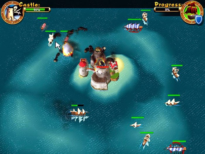 Download Pirates Battle for Caribbean