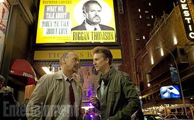 Edward Norton and Michael Keaton star in Birdman