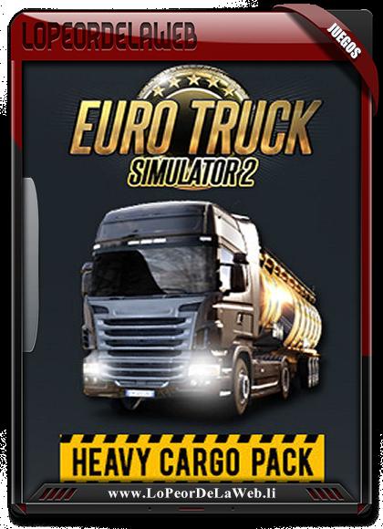 Euro Truck Simulator 2: Heavy Cargo Multilenguaje  [Mega]