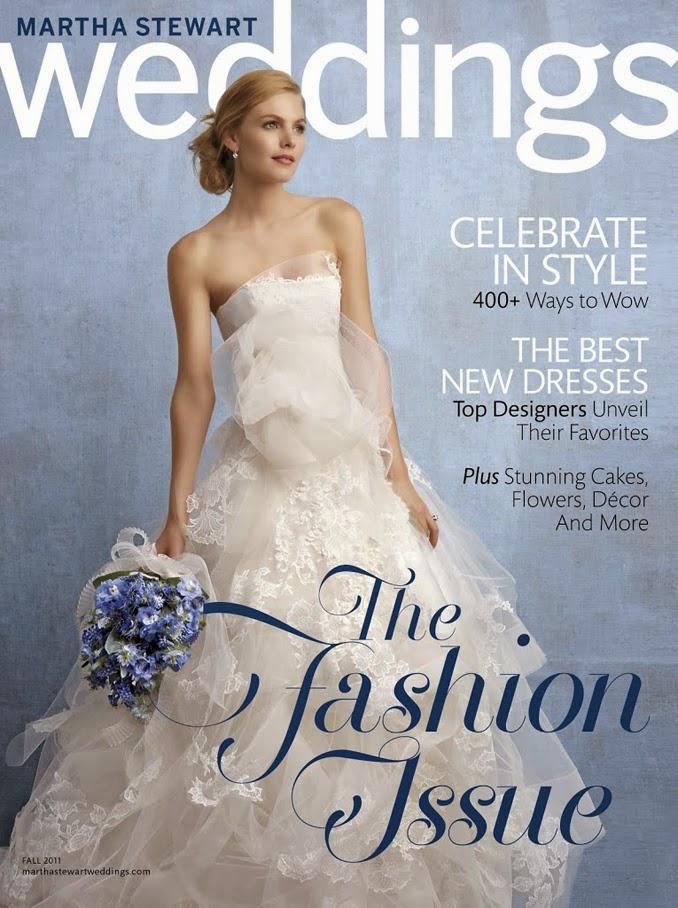 Sneak Peek - Martha Stewart Weddings Fall 2012 Issue!