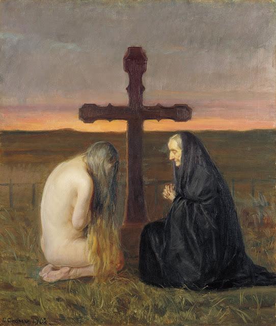Sorg af Anna Ancher, 1902