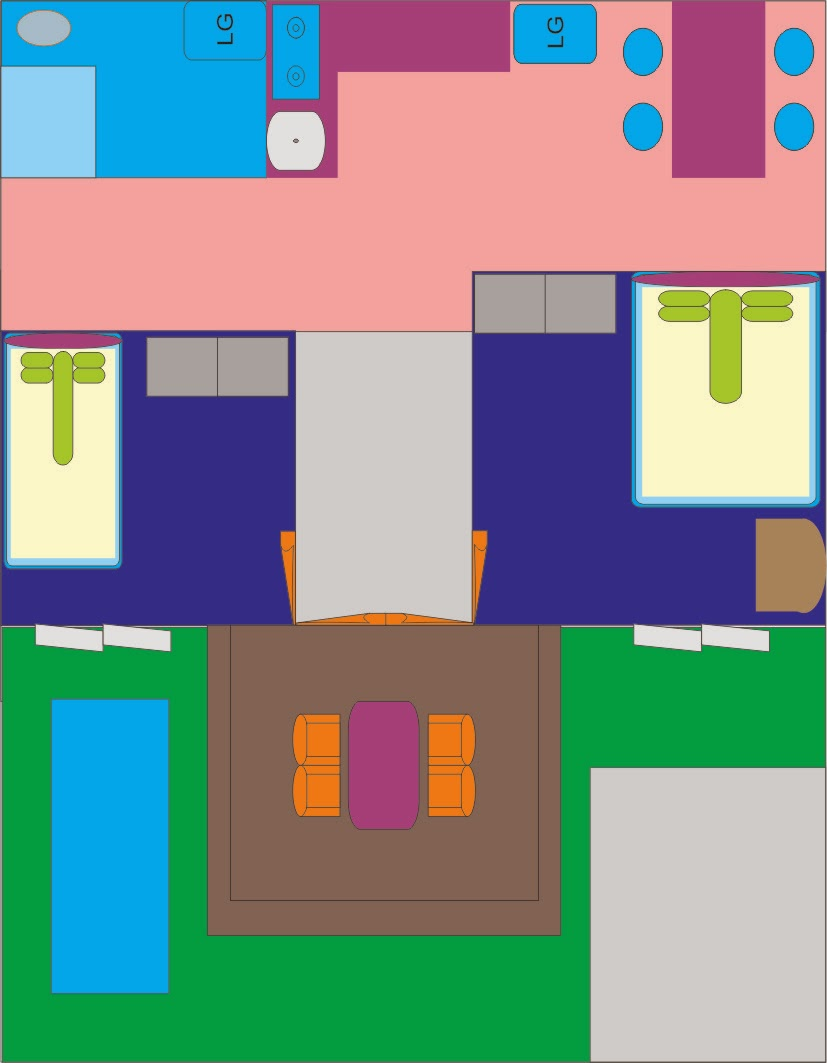 Denah Rumah 7 X 9 Satu Lantai Rumah Banyuwangi