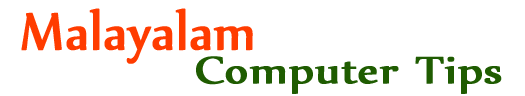 Malayalam Computer Tips