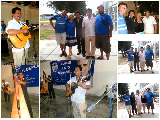 En la Peña Solidaria organizada por el grupo Misión Chaco Impenetrable