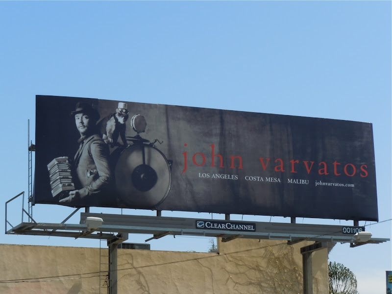 John Varvatos one man band billboard