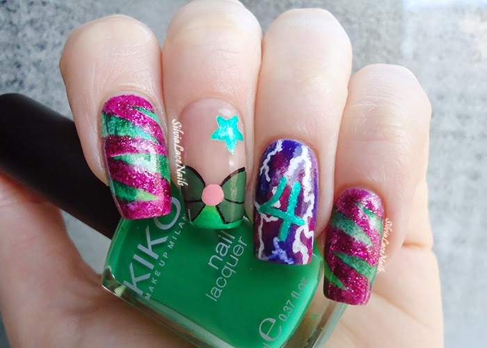Nails jupiter ~ Beautify themselves with sweet nails