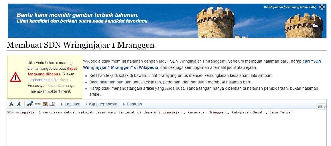 Mendapatkan Backlink Gratis dari Wikipedia