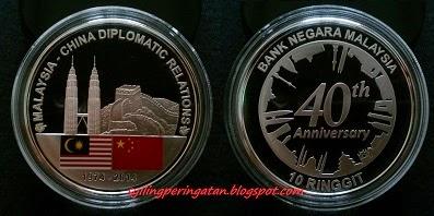 40 TAHUN HUBUNGAN DIPLOMATIK MALAYSIA-CHINA (2014)
