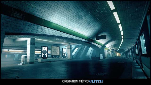 Battlefield 3 Metro Glitch