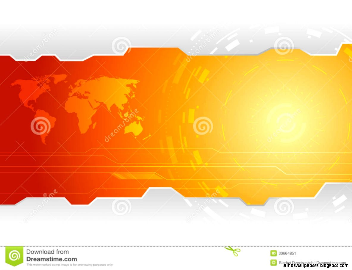 Hi tech Wallpaper Template Stock Image   Image 30664851