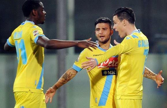 Callejon marca y el Nápoles se afianza en puestos de Champions