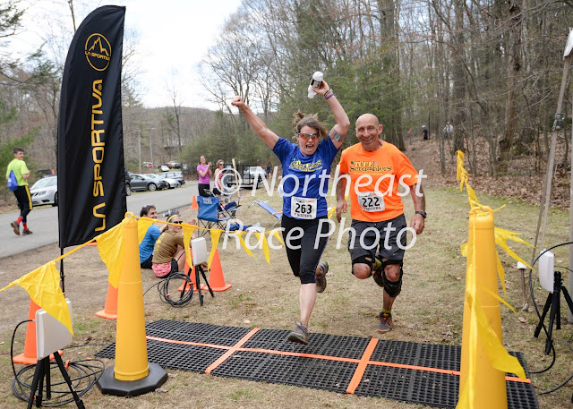 2015 Seven Sisters Trail Race finish