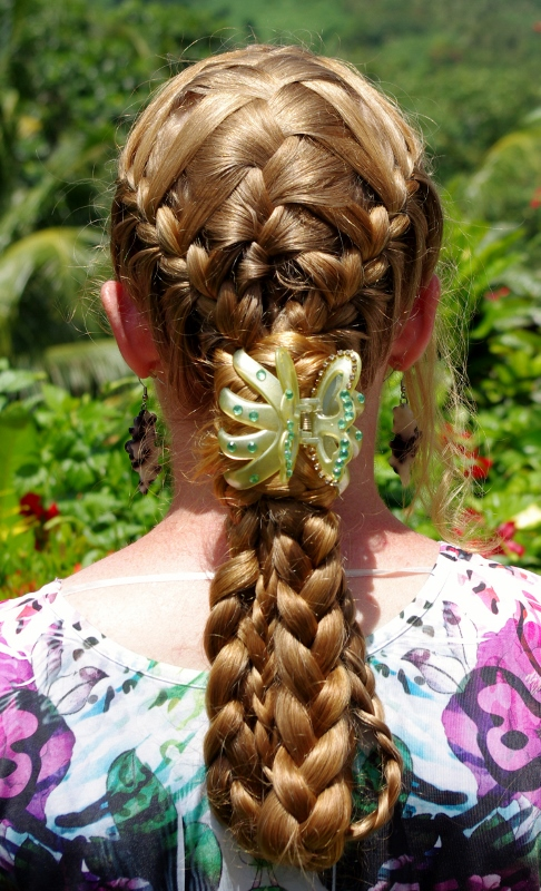 Braids Amp Hairstyles For Super Long Hair Basket Weave
