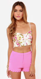 http://www.lulus.com/products/flowers-on-end-floral-print-bustier-top/130418.html