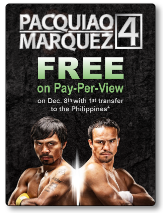 Watch FREE Pacquiao vs Marquez 4 Fight December 8, 2012
