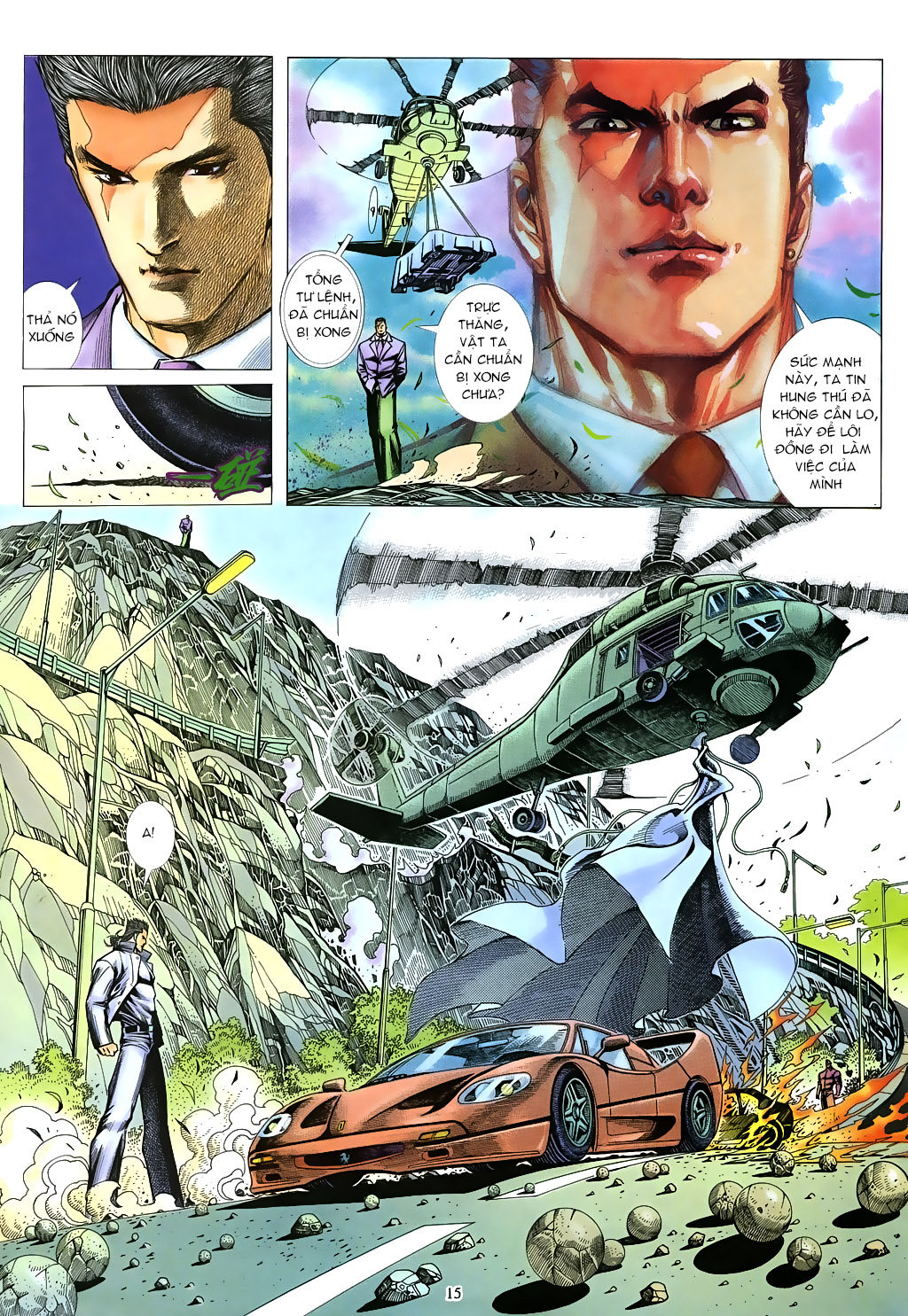 Mạt Nhật Chiến Lang Chap 78 - Next Chap 79