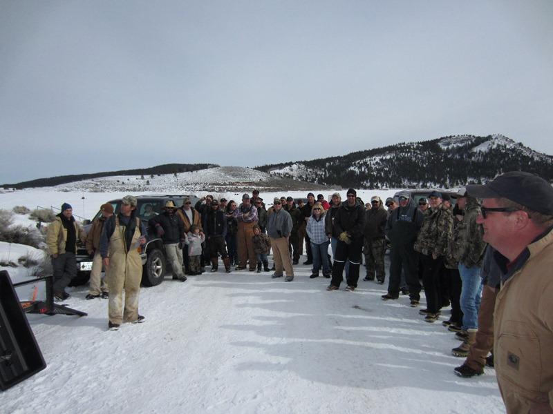 Southern utah hunt and fish 2013 panguitch lake ice for Panguitch lake fishing report