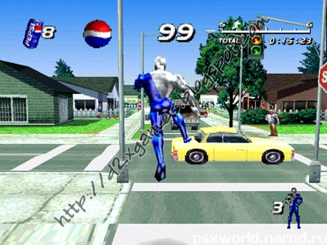 Free Download Games - Pepsi Man