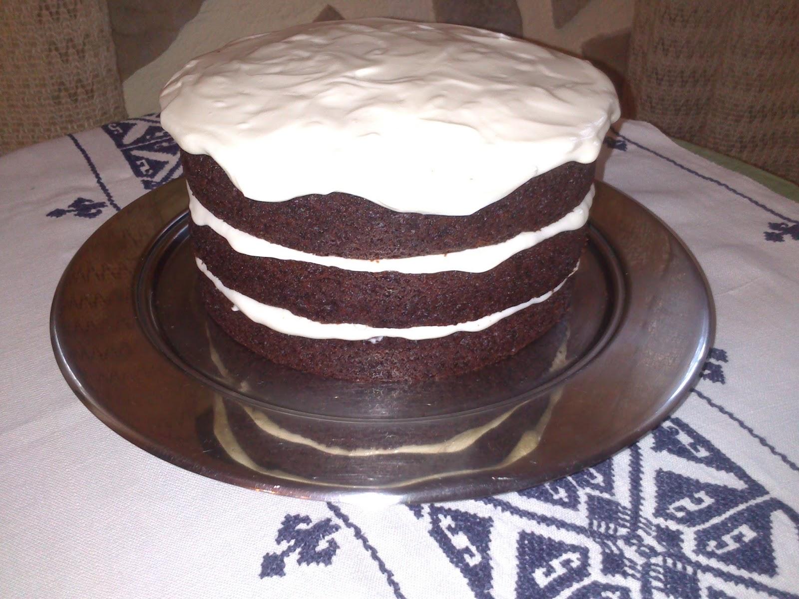 chocolate guinness layer cake