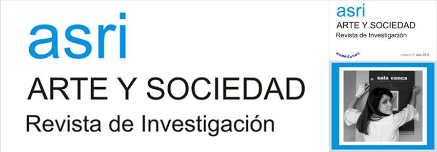 Arte y Sociedad. Revista de Investigación.