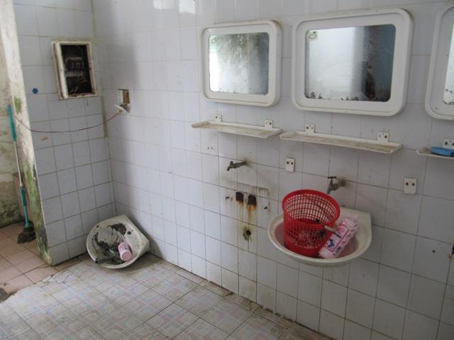 airwalk wc pönttö haisee