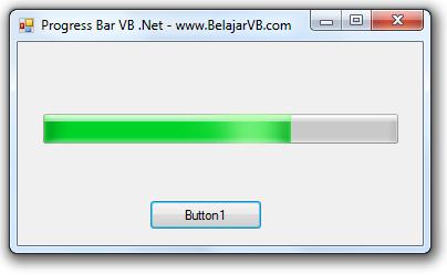 Cara Membuat Form Loading Dengan VB .Net - ProgressBar VB .Net