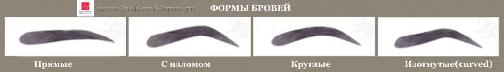 Как сделать брови изогнутыми