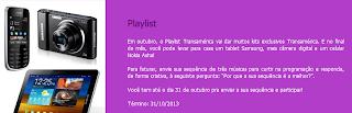 Promoção Playlist Transamérica